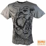 Sure T-Shirt Happy Buddha grau