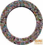 Runder Spiegel aus Recyclingpapier