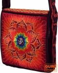 Hippie Tasche, Bestickte Motivtasche OM