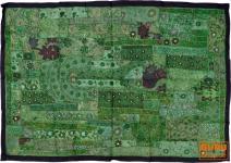 Indischer Wandteppich Patchwork 100*155 cm - 13