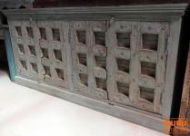 Kommode, Sideboard mit alten Türen aus Indien