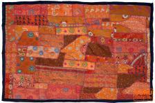 Indischer Wandteppich Patchwork 100*155 cm - 4