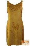 Besticktes Indisches Boho Kleid hippie chic - in 2 Farben