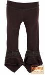 Elfen Leggings, Psytrance Goa Leggings - dunkelbraun