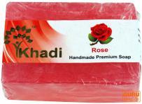 Khadi Seife Rose
