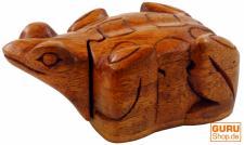 Holzfrosch mit Geheimversteck