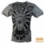 Sure T-Shirt Magic Eye grau