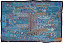 Indischer Wandteppich Patchwork 100*155 cm - 24