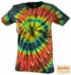 Batik-T-Shirt, Tie Dye Goa Shirt