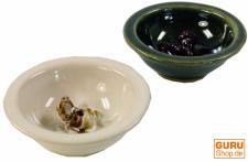 Keramik Räucherstäbchen Schale