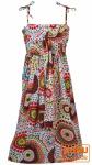 Kinder Kleid Hippie Goa - weiß