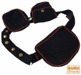 Sidebag & Gürteltasche - schwarz