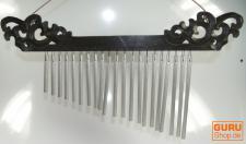 Aluminium Klangspiel mit Schnitzerei - 2