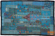 Indischer Wandteppich Patchwork 100*155 cm - 12