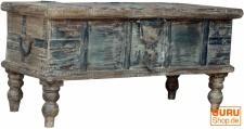 Antike Holztruhe, Holzbox, Holzkiste