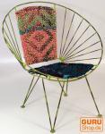 Vintage Metallkorb - Öko Acapulco Chair