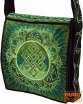 Hippie Tasche, Bestickte Motivtasche Mandala