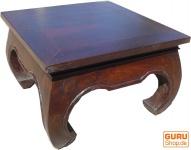 Opiumtisch Bodentisch aus Indien 100*100 cm