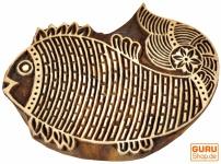 Holzstempel Fisch 2 a
