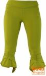 Elfen Leggings, Psytrance Goa Leggings - kiwi
