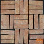 Stäbchen Mosaik Fliesen aus Marmor (P-04)