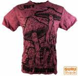 Sure T-Shirt Magic Mushroom bordeaux