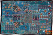 Indischer Wandteppich Patchwork 100*155 cm - 7