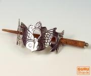 Haarspange aus Metall Fisch