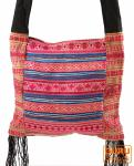 Schultertasche, Hippie Tasche Chiang Mai pink
