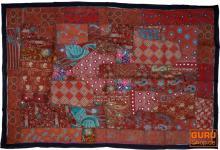 Indischer Wandteppich Patchwork 100*155 cm - 18