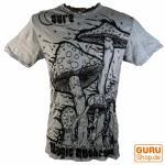 Sure T-Shirt Magic Mushroom grau