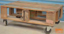 Esstisch, Wohnzimmertisch Massivholz, Kolonialstil Indien