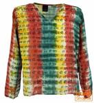Batikhemd, Hippie Boho Hemd, Festival Hemd