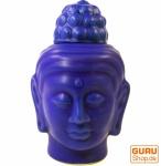 Duftlampe in Buddhaform blau