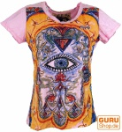 Mirror-Shirt Fatima - rosa/bunt