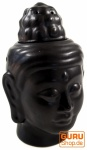 Duftlampe in Buddhaform schwarz