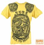 Sure T-Shirt OM gelb