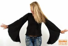 Hippie Bluse MA 4 schwarz