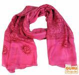 Dünnes Baba Tuch, Benares Lungi pink