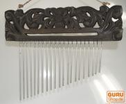 Aluminium Klangspiel mit Schnitzerei - 1