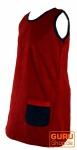 Kinderkleid Cordkleid Goa Kleid - rot