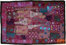 Indischer Wandteppich Patchwork 100*155 cm - 17