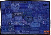 Indischer Wandteppich Patchwork 100*155 cm - 14