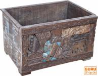 Verzierte Holzbox (JH3-39a)