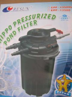 Resun Druckfilter Teichfilter mit 24W UVC 18000 L/h