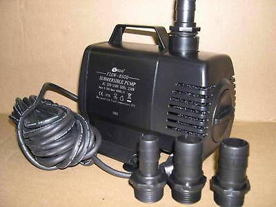 Resun Teichfilterpumpe Filterpump Flow-R 8500 Liter/h Bachlaufpumpe Filterpumpe