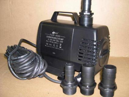 Teichfilterpumpe 8500 Ltr/h Bachlaufpumpe Filterpumpe - Vorschau