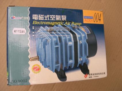 Resun ACO004 Teichbelüfter Sauerstoffpumpe Belüfter 4200 L/h Teichdurchlüfter