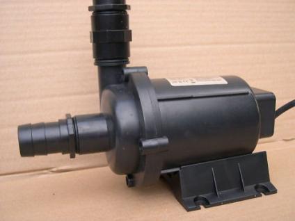 Teich - FilterpumpeTeichfilterpumpe 18000 L/h Filterspeisepumpe Bachlauf Pumpe