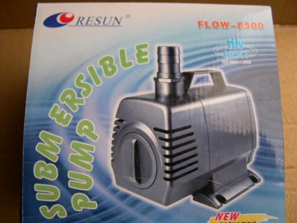 Resun Flow 8500 Liter/h Teichfilterpumpe Bachlaufpumpe - Vorschau